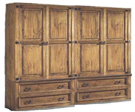 Muebles rusticos armarios mesas de noche mesas rusticas - Armario rustico segunda mano ...