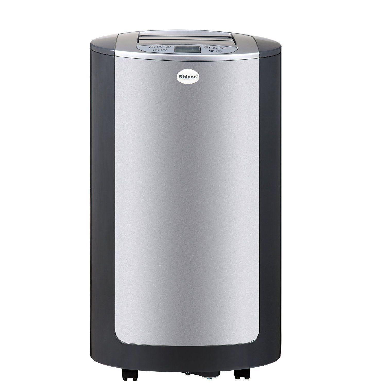 shinco ypn 09c 9000 btu portable air conditioner ypn 09c silver