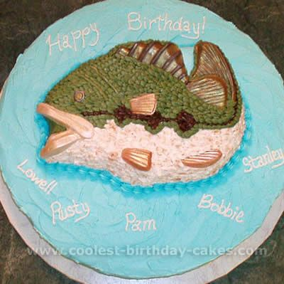 Coolest Fish Cake Ideas and Photos Fish Cake and Fish birthday cakes
