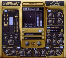 Camel Phat / Phattening Multi Effect for Drums, Guitar and Bass