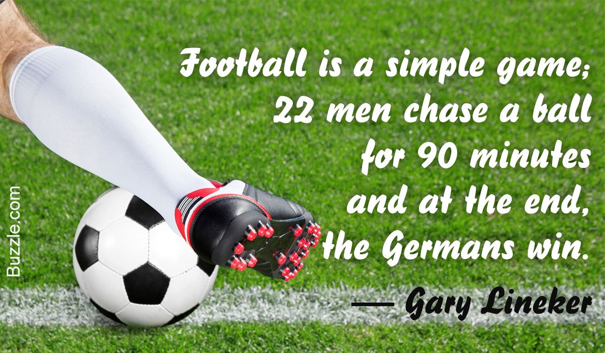 Funny Soccer Quote By Gary Lineker Soccer Quotes Funny Football Quotes Funny Soccer Funny