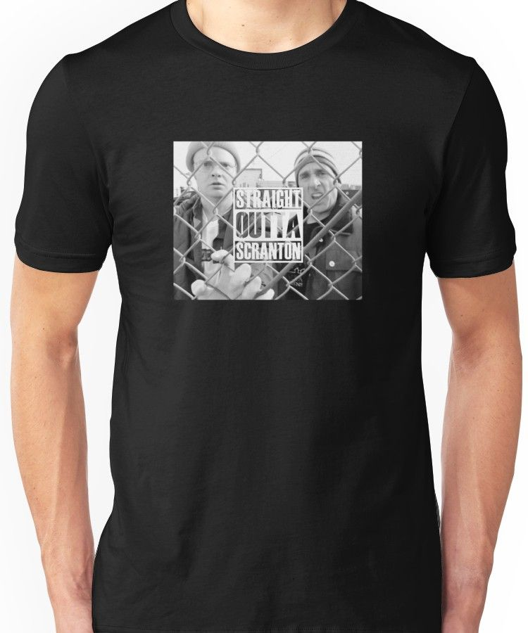 361dc51f51209 The Office Straight Outta Scranton' T-Shirt by Pairofdocx | Products ...