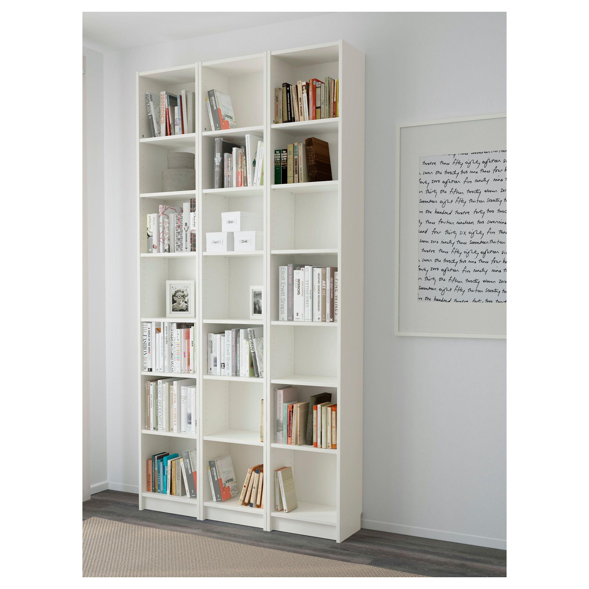 Billy White Bookcase 120x28x237 Cm Ikea White Bookcase Ikea Billy Bookcase White Billy Bookcase