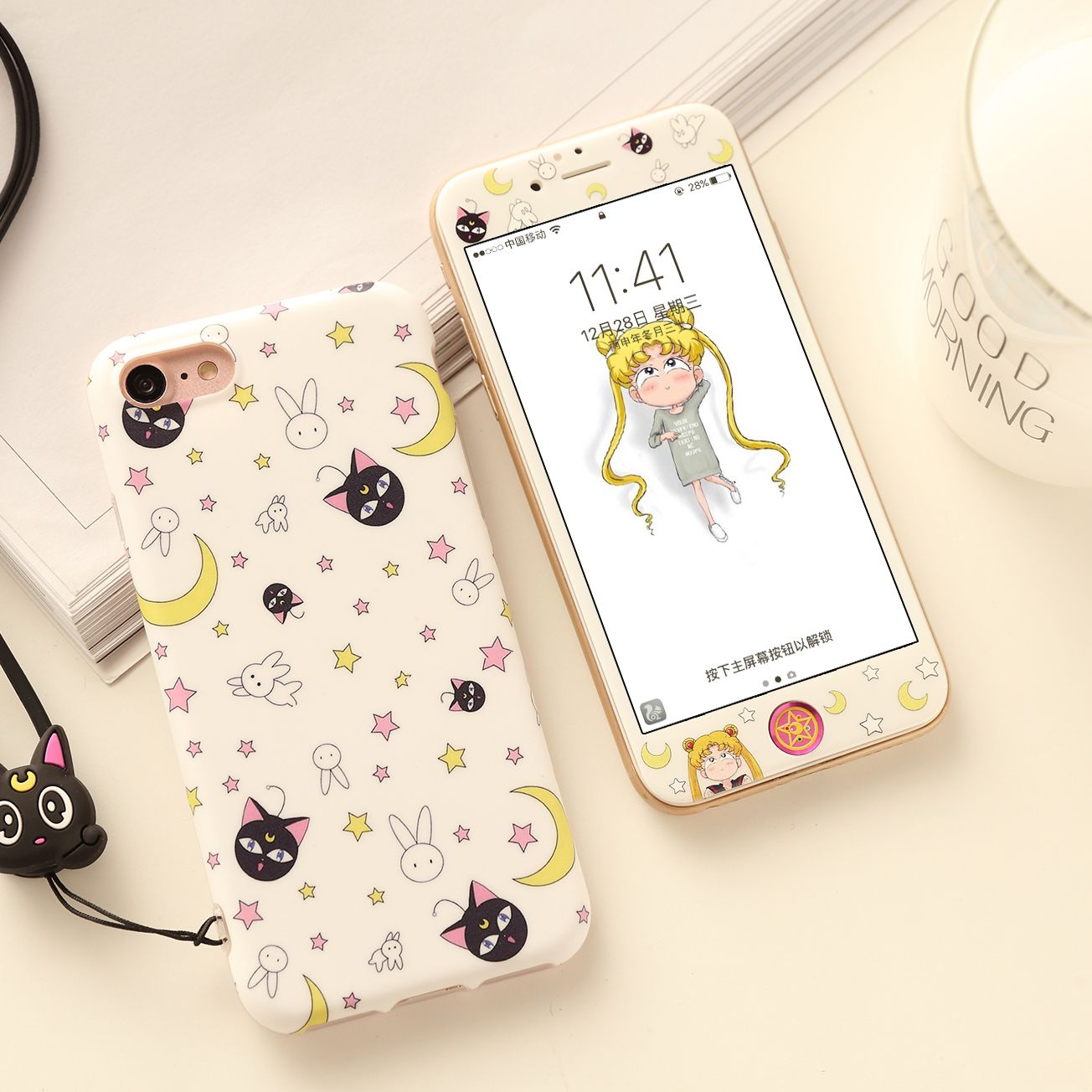 Cute Sailor Moon Phone Case For Iphone 6 6s 6plus 7 7plus 8 8p Pennycrafts Online Store Powered By S Fundas Para Iphone Fundas Para Telefono Iphone Estuche