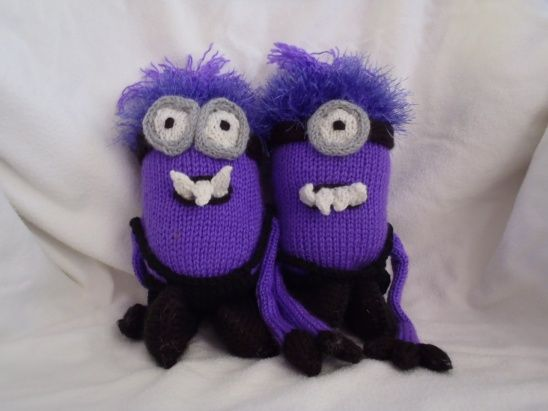 Minions (evil version) by Stana\'s critters etc | Project | Knitting ...
