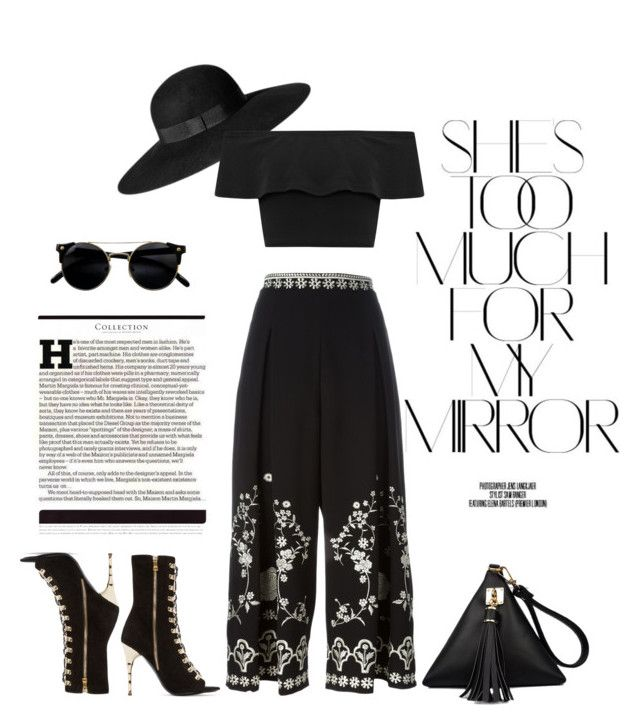 """""""She is Beautiful"""" by kimberlyn303 on Polyvore featuring Rika, Temperley London, H&M, Balmain, WearAll and Maison Margiela"""