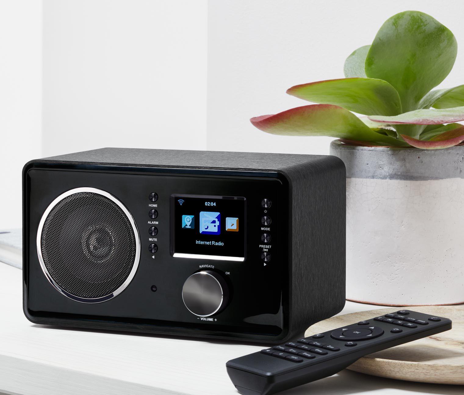 WLAN-Internetradio | Tchibo | Internet radio, Wlan und Bluetooth