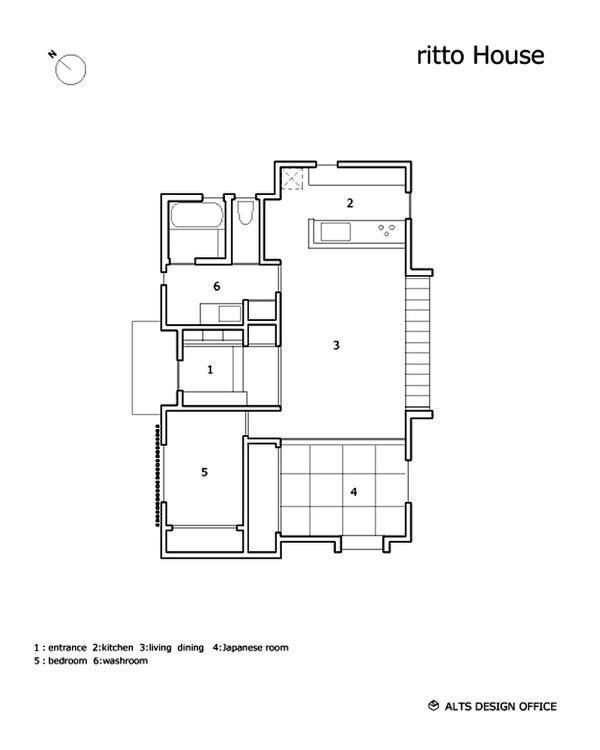 Minimalist 778 Sq Ft Japanese Family Small House Small Japanese House Japanese House Small House Japanese Design