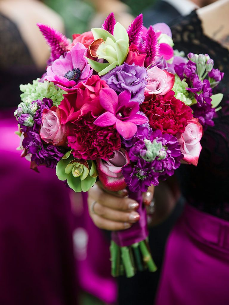 Purple Wedding Bouquet Ideas and the Best Blooms in Hue Garden