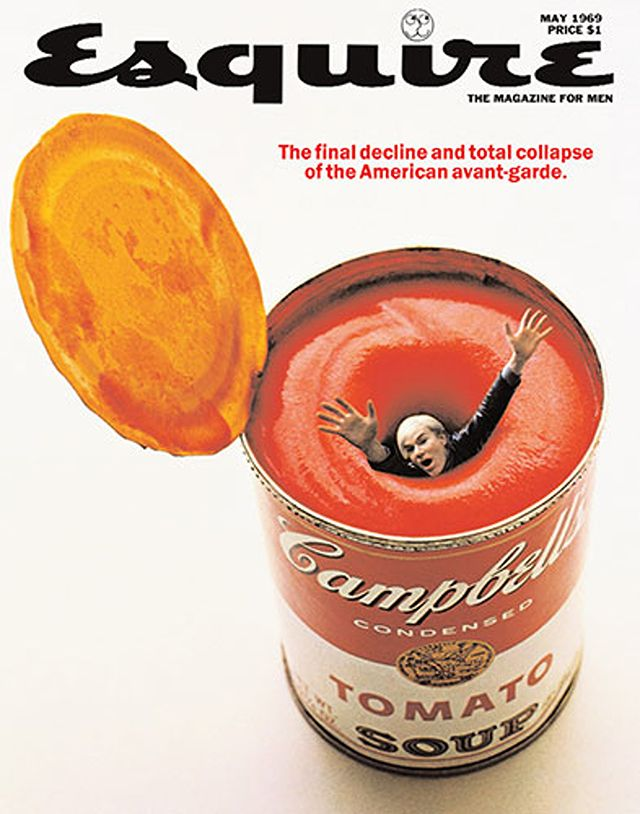Andy Warhol Drowns in His Own Soup - May 1969