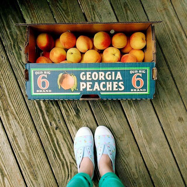 Fresh Georgia Peaches - Delightful Handwork