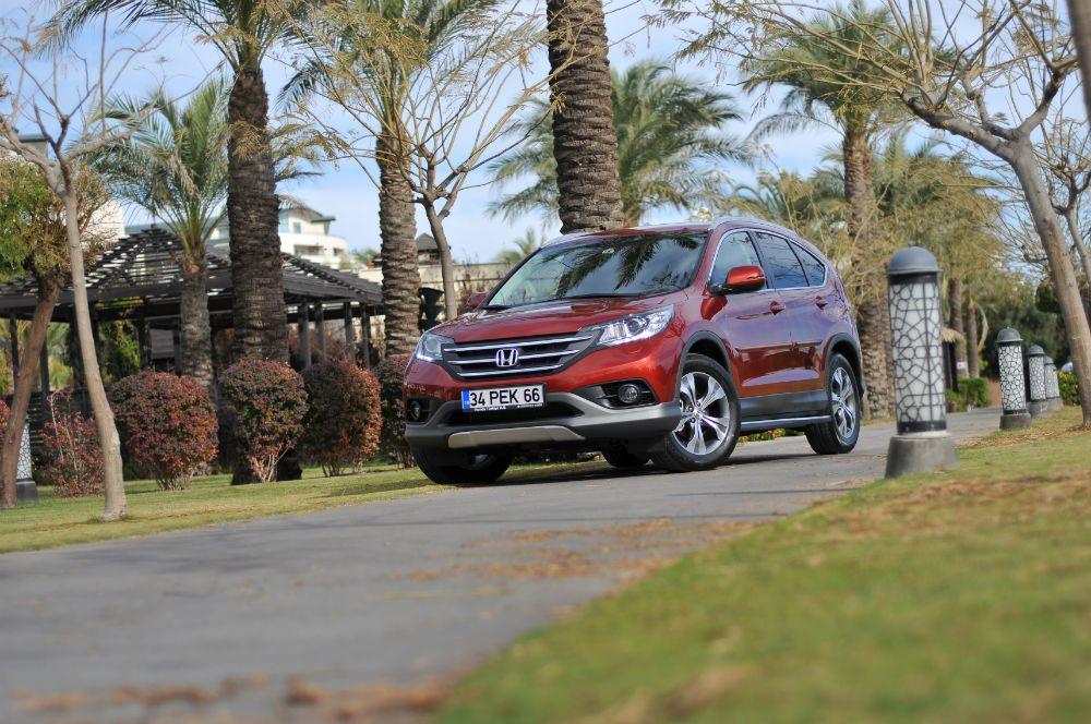Honda CRV 1.6 Dizel Türkiye'de CRV 1.6 dizel, başlangıç