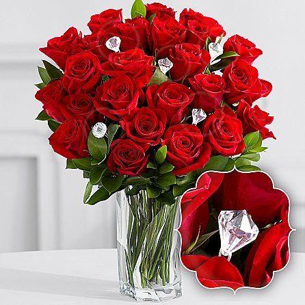 Valentine Deluxe Eshopclub Same Day Valentine Day Flower Delivery Online Valentine Flowers Roses Val Valentines Flowers Flower Delivery Anniversary Flowers