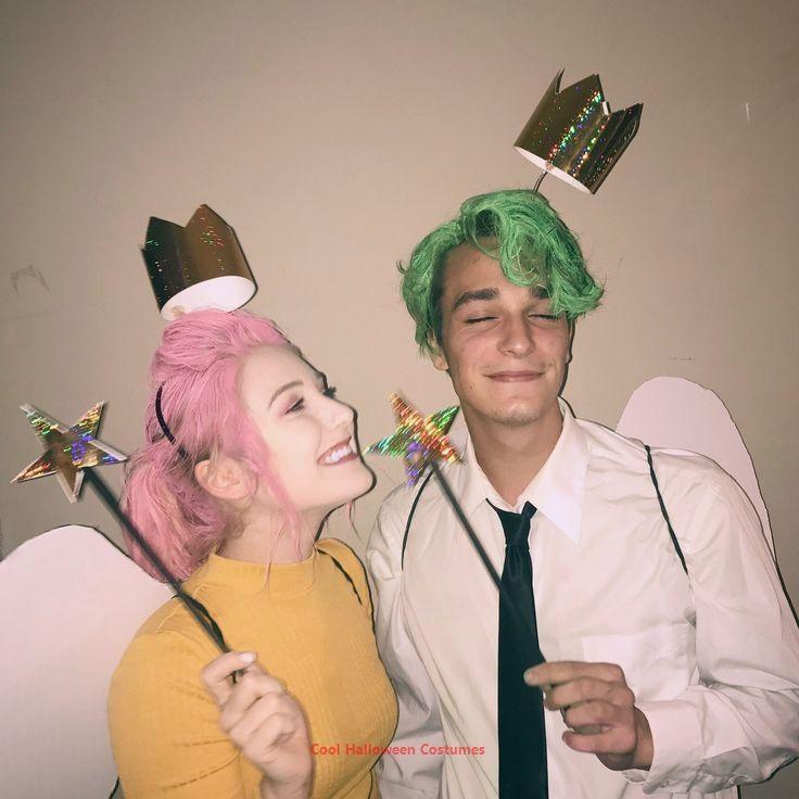 Cosmo und Wanda Paare Kostüm #déguisementsdhalloweenfaitsmain