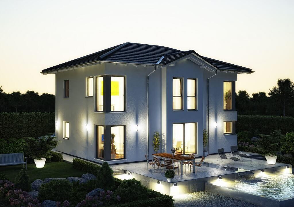 Haus bauen modern walmdach  STADTVILLA MODERN // Haus Evolution 148 V3 Bien Zenker ...