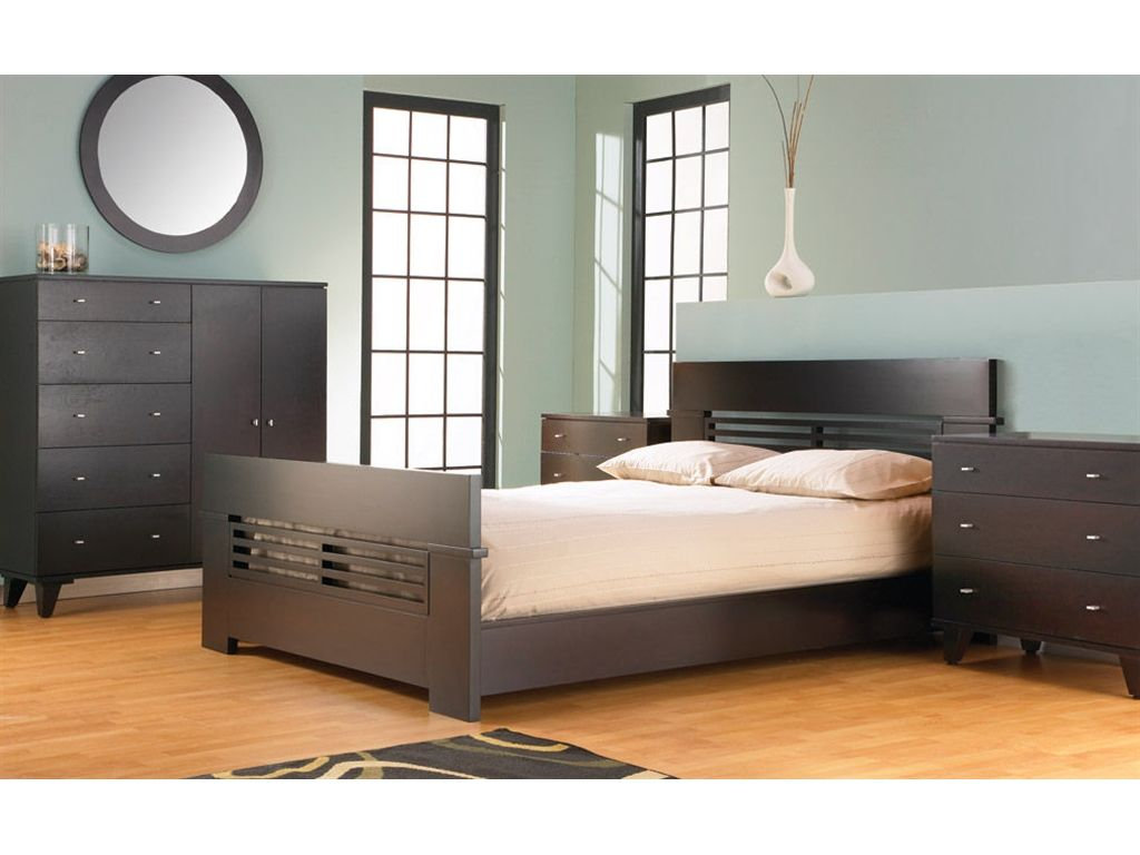 Dinec Bedroom Set b_wi2 - Woodley\'s Furniture - Colorado ...