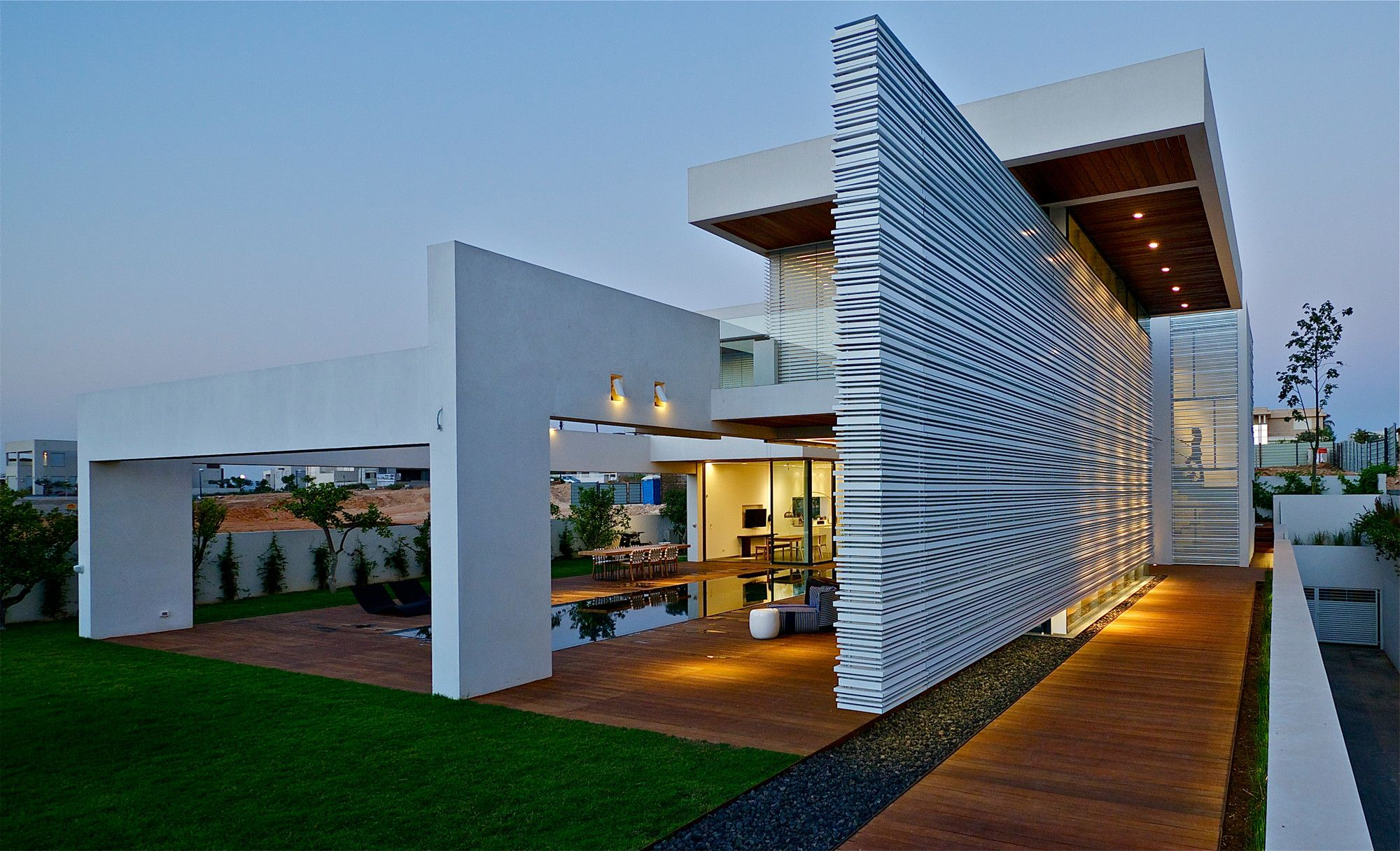 Gallery of villa c gal marom architects villas architects