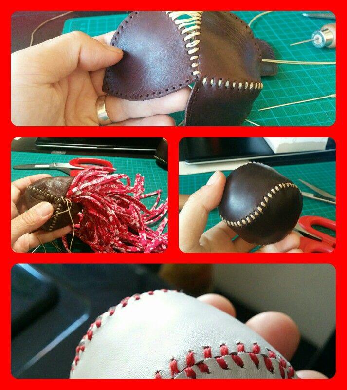 Making leather balls