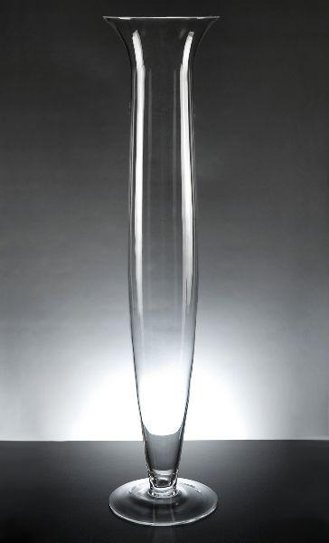 27 1 4 Da Vinci Clear Glass Vase 26 Each 4 For 25 Each Wholesale Vases Tall Vase Decor Glass Vase