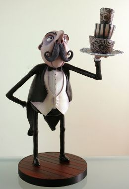 The People's Cake | Sculpted Cake Gallery- Wonderful