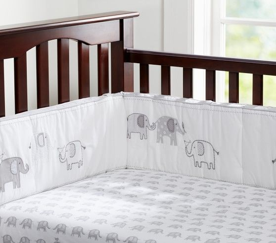 Taylor Elephant Baby Bedding With