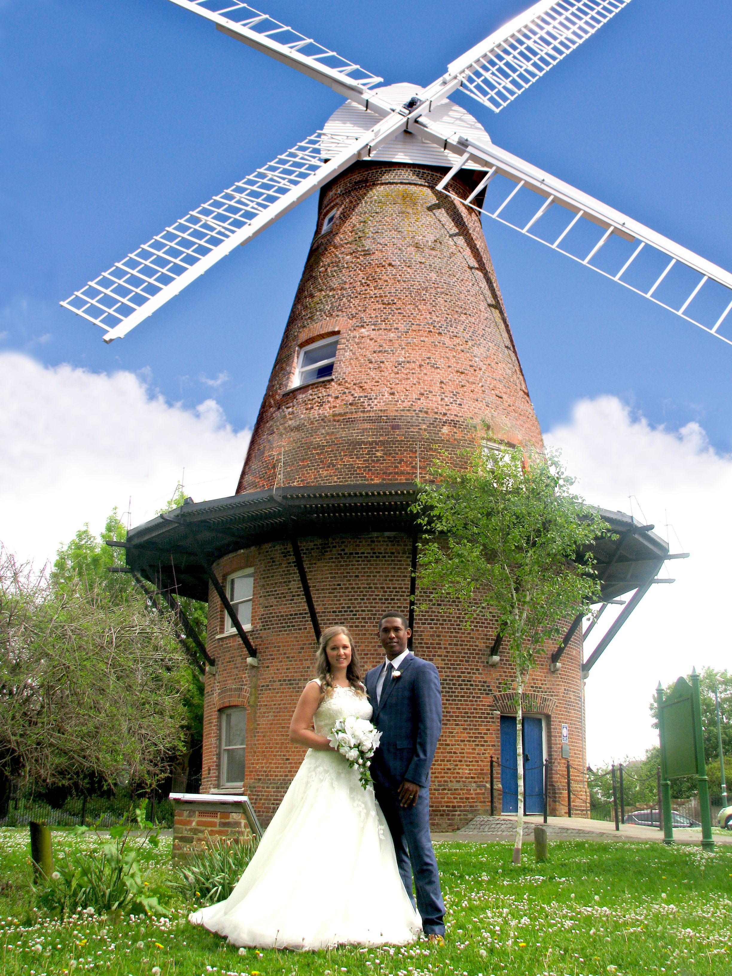 Tuxford windmill wedding invitations