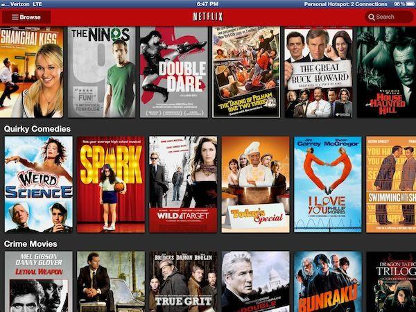 Netflix updates iOS app for iPad 3 Retina display, HD