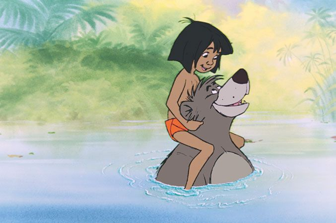 Baloo is just a cool dude. Sometimes we get stressed if we're running late or if we can't decide what type of gelato to order. Baloo would give us great advice and chill us out.