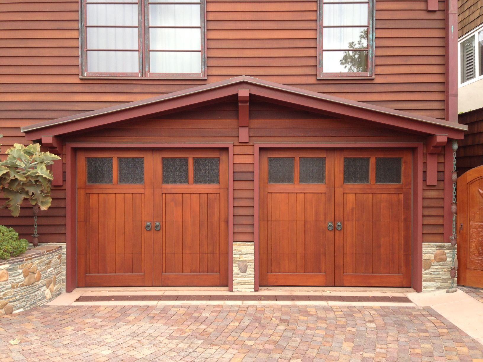 Pin On Wood Garage Doors