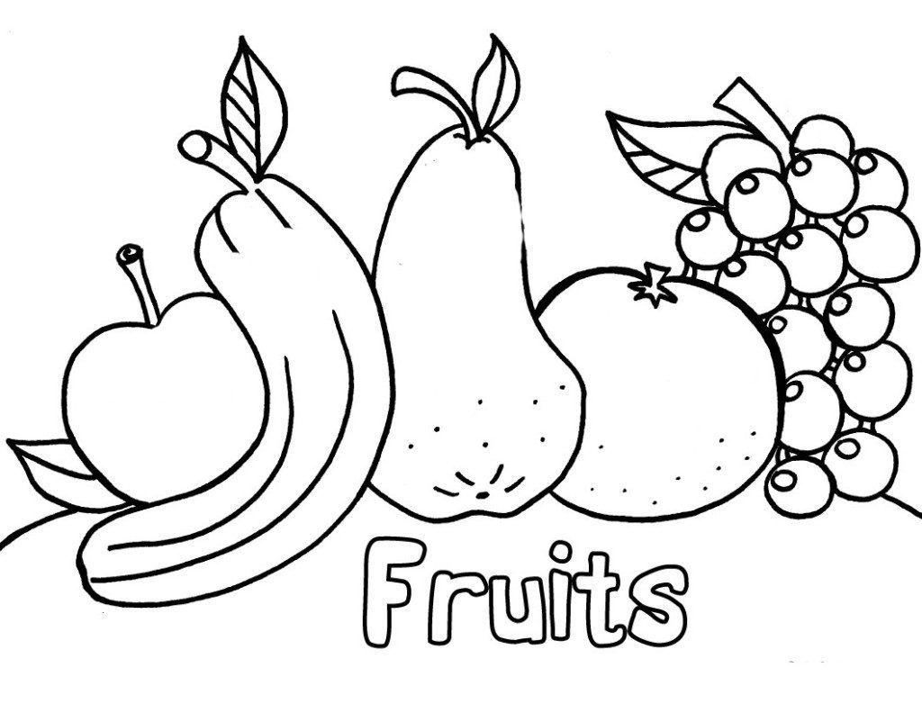 Free Printable Preschool Coloring Pages Best Coloring Pages For Kids Fruit Coloring Pages Kindergarten Coloring Pages Vegetable Coloring Pages