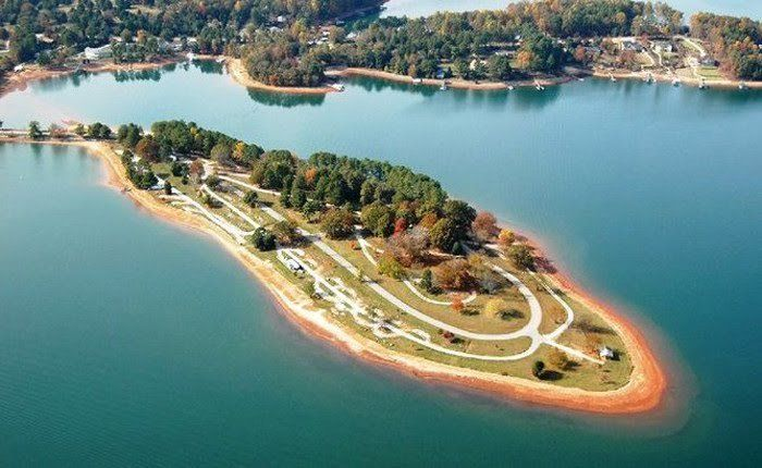 SC South. Cove campground 13 Unforgettble SC Waterfront ...