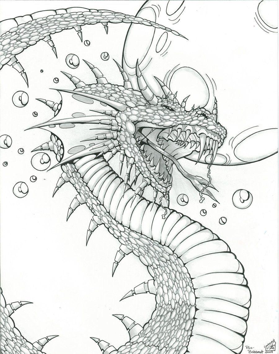 Ausmalbilder Fantasie Drachen : Dragon Design For Fantasy Art By Icgreen Deviantart Com On