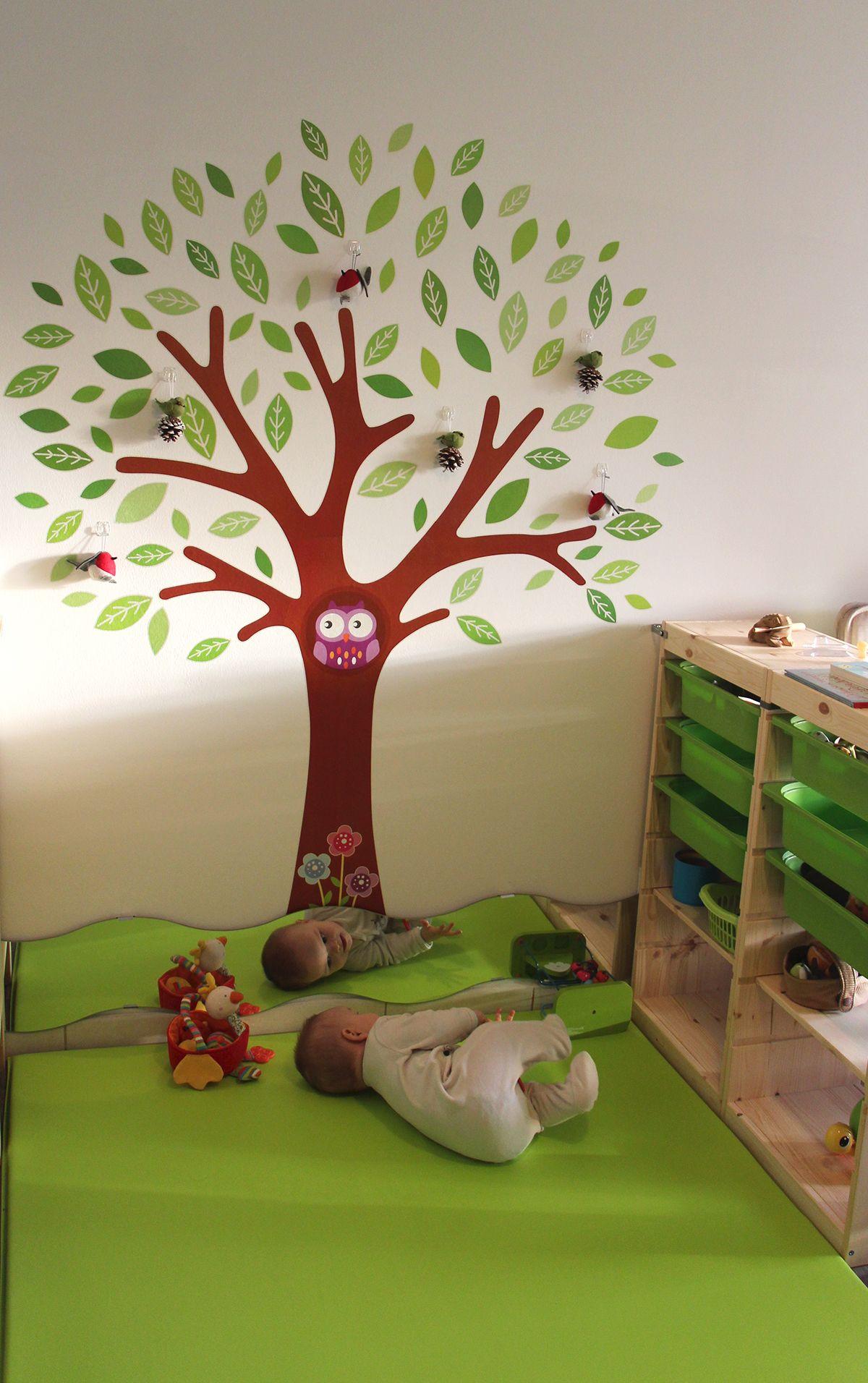 Tapis de jeu Wesco, miroir pour esprit Montessori et Trofast IKEA ...
