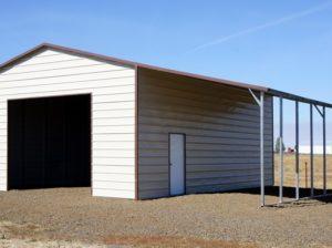 20 X 31 X 12 Boxed Eave Metal Buildings Garage Door Design Custom Metal Buildings