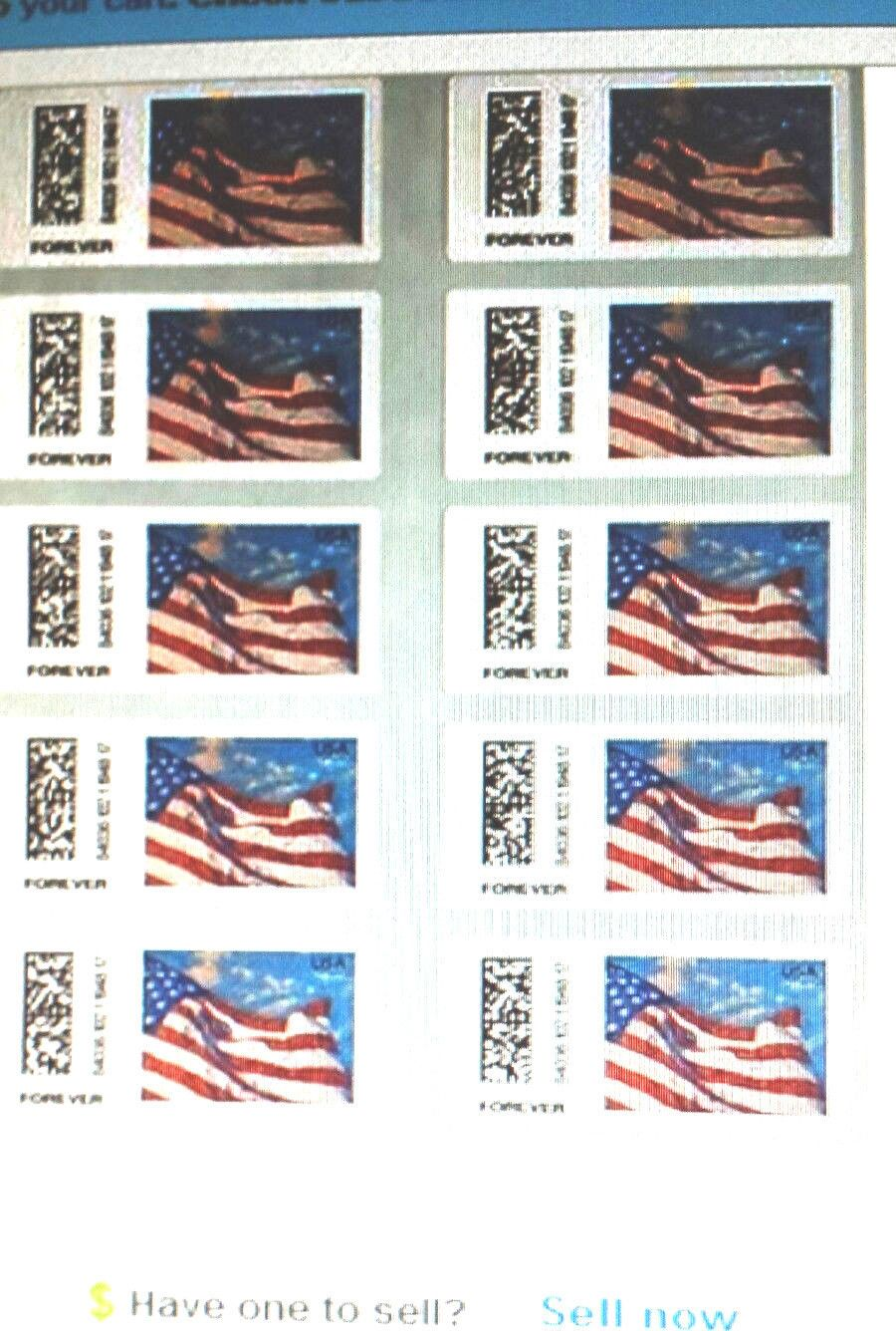 100 USPS Certified Forever Stamps 10 Sheets of 10 = 100 (( Save Now