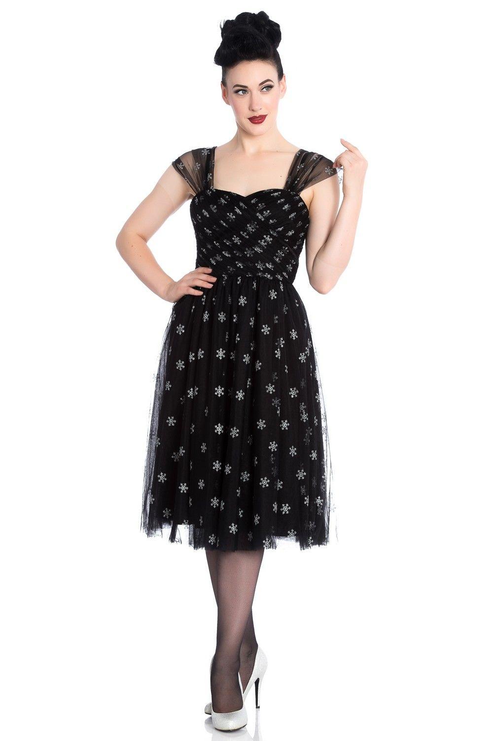 Snowstar dress hellbunny wishlist pinterest black tulle dress