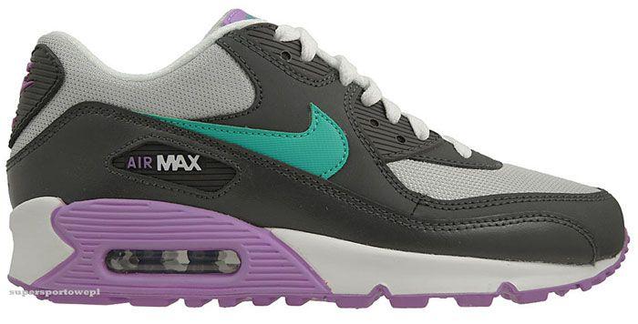 Buty Nike Air Max 90 2007 Gs 014 38 5 Wiosna 2013 3020729272 Oficjalne Archiwum Allegro Nike Air Max Air Max Nike Air