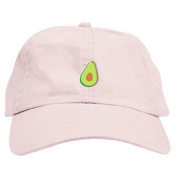 Avocado Dad Hat Baseball Cap Low Profile  6875d2a737f2