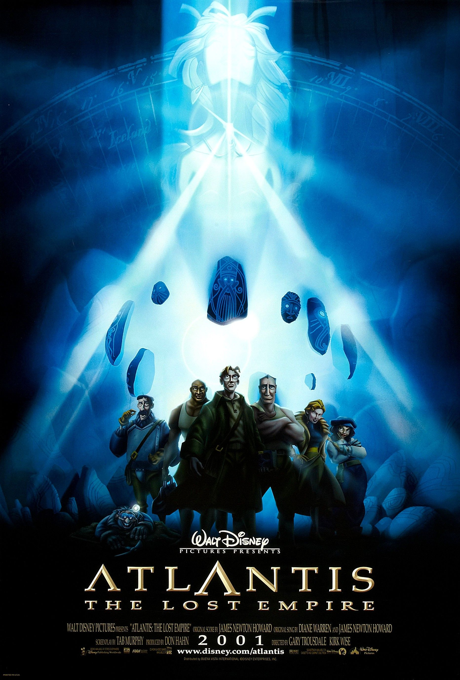 Atlantis The Lost Empire The Crystal Chamber 2001 With