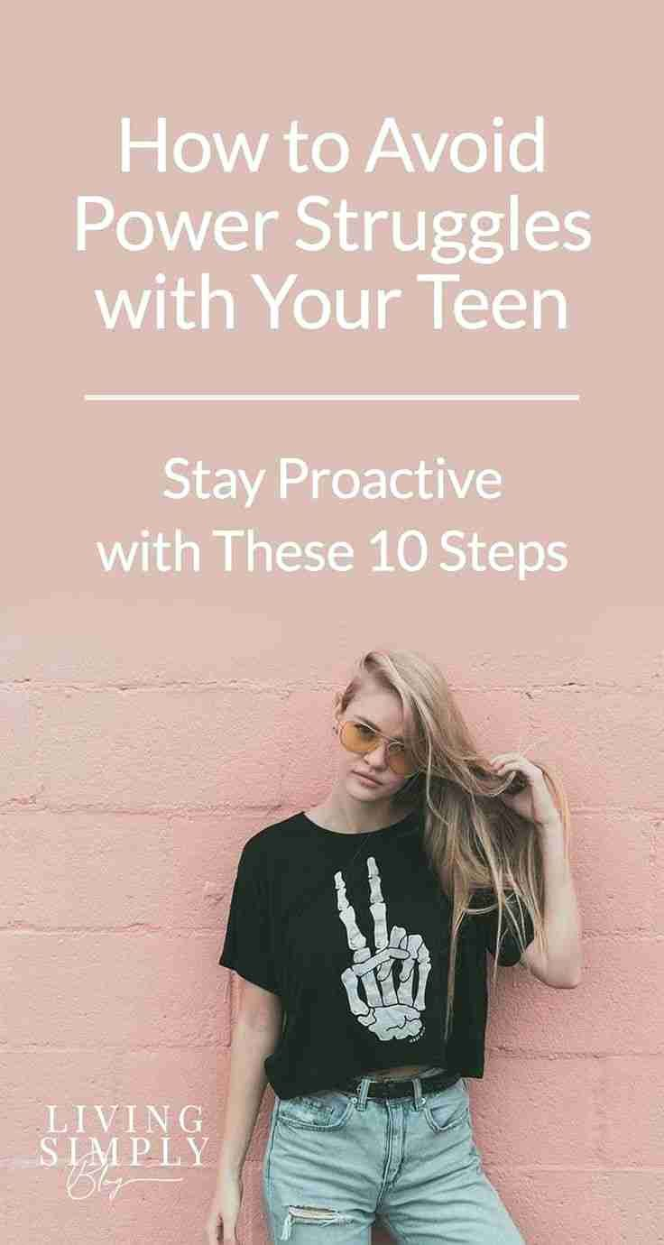 Teens can be challenging, to say the least. Take steps to prevent disagreements and power struggles, keep them safe, and teach them to resolve conflicts respectfully. #Teenager #TeenMom