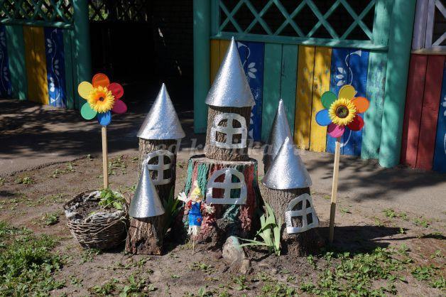 Весеннее оформление группы в детском саду 43