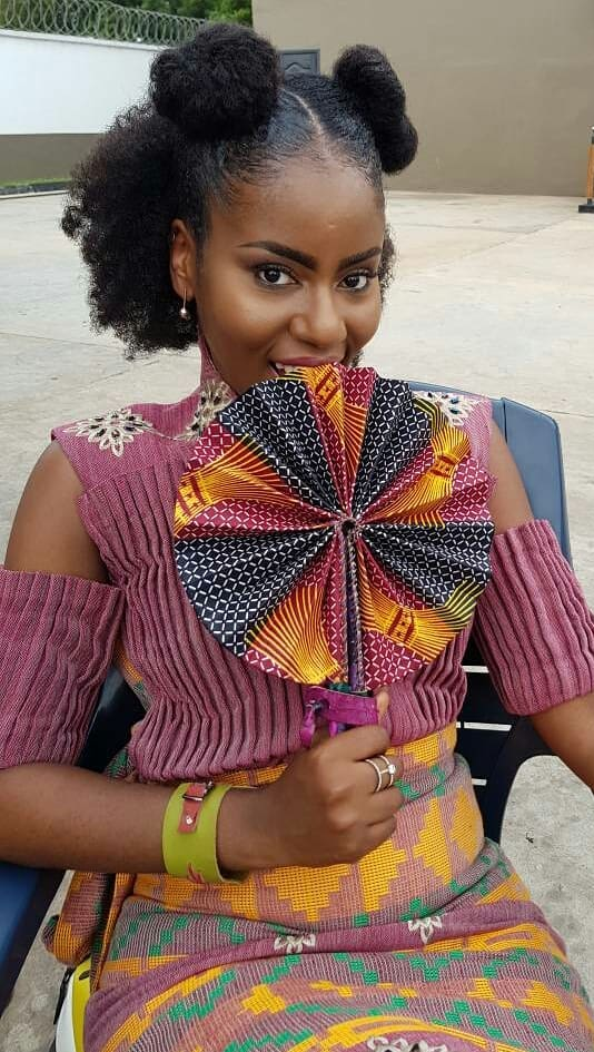 Mzvee natural hair style, Natural hairstyle for black