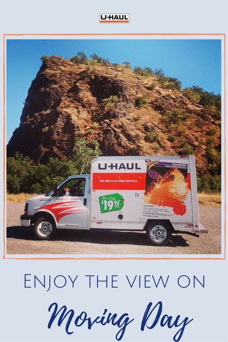 Don T Stuff Everything Into Your Car And Lose Visibility On Moving Day Be Safe And Rent A 10 Ft U Haul Truck Click Through To Ge U Haul Truck Moving Day Haul
