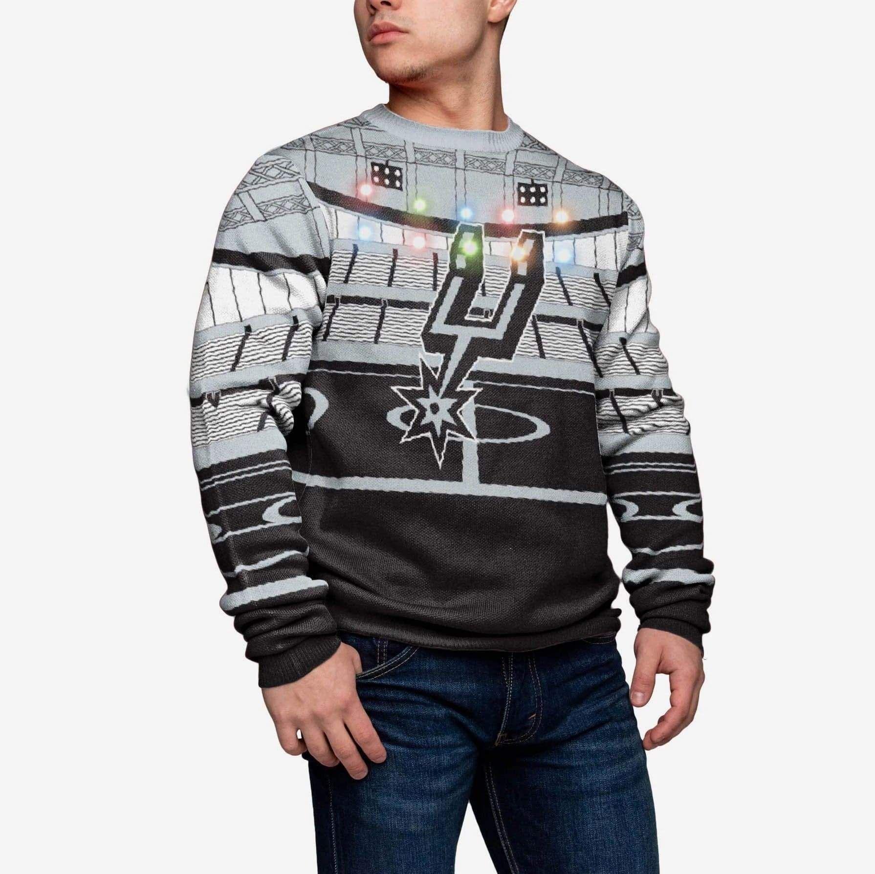 Predownload: San Antonio Spurs Light Up Bluetooth Sweater In 2021 San Antonio Spurs San Antonio Spurs [ 1789 x 1790 Pixel ]