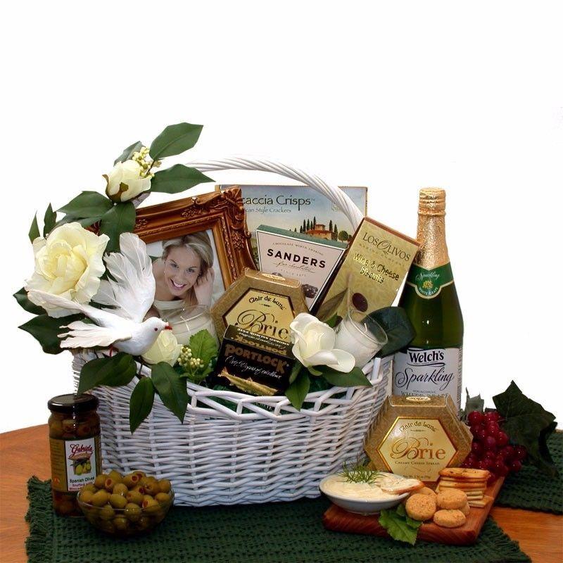 Details about bride groom happy wedding wish gift basket