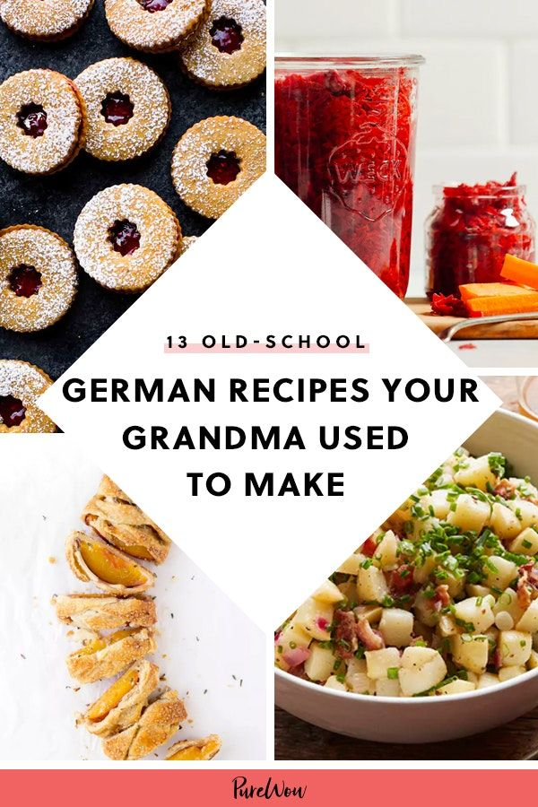 13 Old-School Recipes Your German Grandma Used to Make