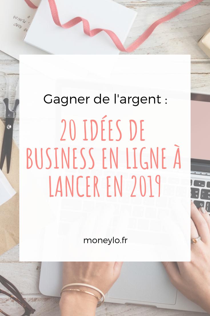 10 idées de business en ligne à lancer en 1010 • Moneylo  Gagner
