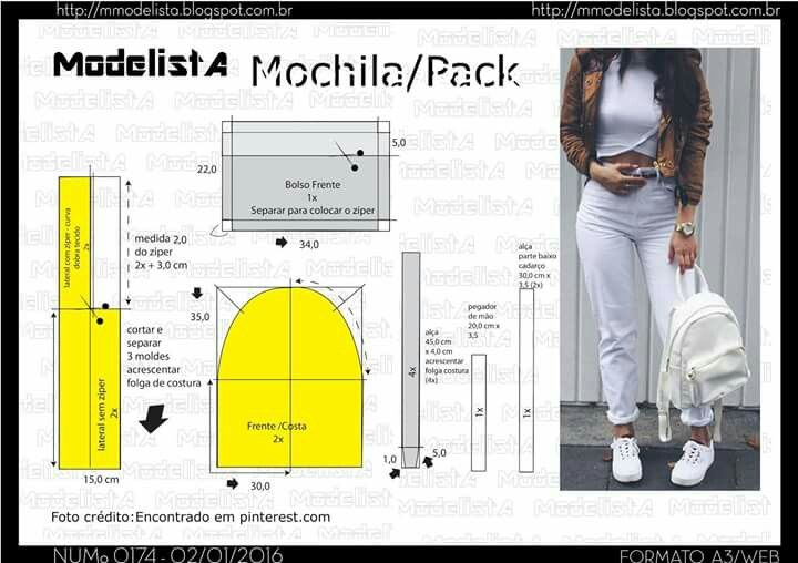 Mochila.. | hi | Pinterest | Mochilas
