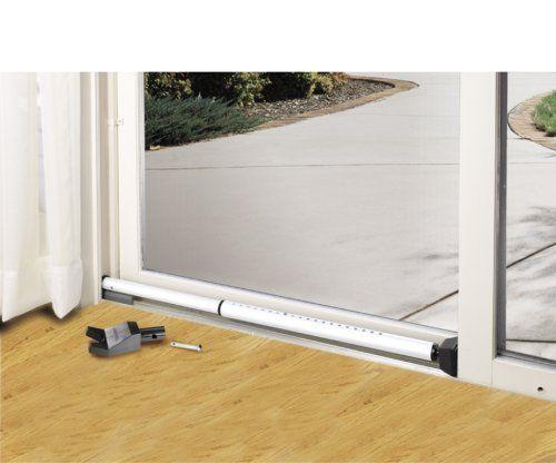 Steel Dual Function Security Bar Sliding Door Jam Home Front Door Safety Apartment Security Security Door Sliding Glass Door