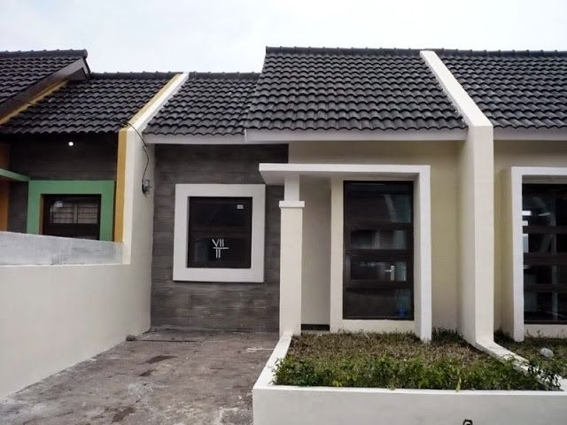 Contoh desain rumah minimalis type 21 | Minimalist house ...
